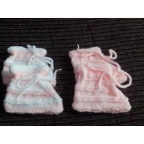 Sapatinhos De Bebê Feitos A Mao Lã Antialergica Infantil
