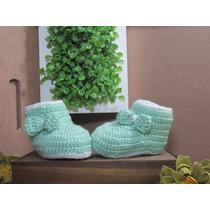 Sapatinhos De Crochê - Newborn Bebê Recém Nascido Tênis