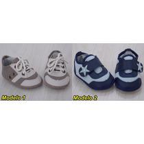 Sapatinhos De Bebê Menino Danda Nenê - Tamanho P