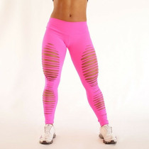 Legging Calça Destroyed Giletada Fitness Moda 2015
