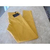 Super Promocao !!calca Jeans Feminina Amarela Skinny!!!