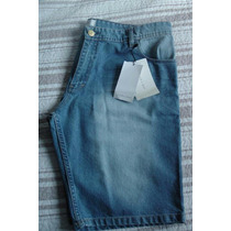 Bermuda Jeans Marca Zara Man - Numeração 46
