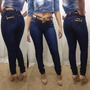 Calça Jeans Feminino Lycra Collection Oposto Hot Pants Marca