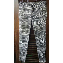 Farm Rio Calça Zebra Preta Branca 40 Tenho Vestido