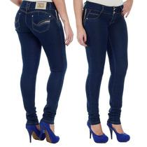 Calça Jeans Levanta E Modela Bumbum C/ Bojo Sawary Jeans