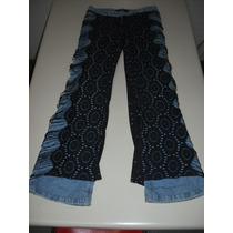 Calça Jeans Tam 36 Customizada