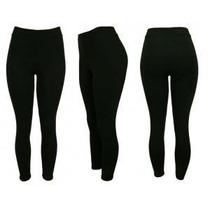 Calça Legging Cotton +grosso Tam Especiais Plus Size 52 A 60