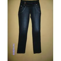 Ca050 - Calça Jeans Com Stretch Manequim 36 Macville