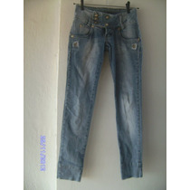 Ca055 Calça Jeans Cinza Claro Manequim 36 Da Mallyfe