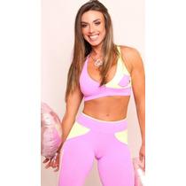 Conjunto Legging Top Suplex Clarabella Nicole Bahls
