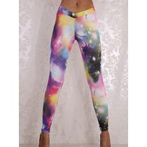 Legging Galaxy Spacial Estampada - Pronta Entrega