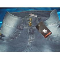 Calça Jeans Feminina Carmim Strech 44