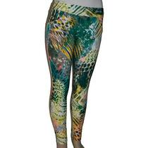 Calça Legging Skinny Malha Lycra Elastano Estampada Colorida