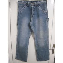 Calça Jeans Masculina Lee Tam 42 Usado Bom Estado Cfe Medid
