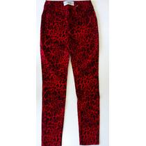 Calça Onça Jeans Com Lycra Skinny Feminina Colorida Caution