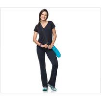 Calça Bailarina Lupo Texturizada A Ar E Proteção Uv A Melhor