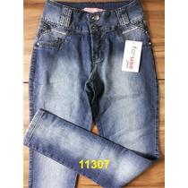 Calça Jeans For Use Levanta Bumbum Com Elastano Feminina - 1