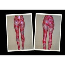 Legging Fitness Cirre Metalizada Estampada Mardufit Panicat