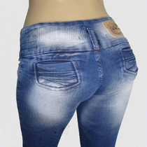 Calça Pit Bull Pitbull Jeans Feminina 2 Unidades