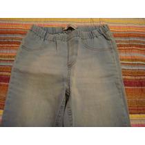 Calça Jeans Jegging Tam. 38 Bolso Ziper Como Nova