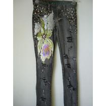 Calça Jeans Customizada, Destroyed Estilo Street Ny