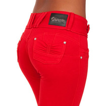 Calça Moletinho Obsessão Vermelha Skinny Estilo Gang Ca707