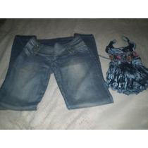 Calça Jeans Planet Girls Feminina Tamanho 38