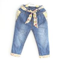 Linda Calça Jeans Infantil Feminina 2 A 4 Anos Menina