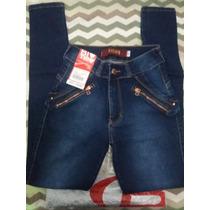 Calca Jeans Feminina Com Laycra Biotipo Original