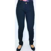 Calça Jeans Feminina Cos Alto E Levanta Bumbum