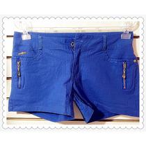 Shorts Legging Calça Várias Cores Colorido Leva Cinto Ziper