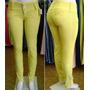 Calça Skinny Colorida Amarela, Consciência Jeans