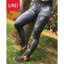 Fuso Jeans Live Neo Denim Grossa Inverno Legging Jeans Fake