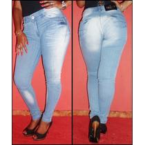 Calça Jeans Feminina Lady X- Cintura Média- Linda E Sensual