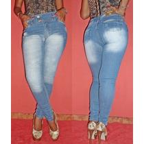 Calça Jeans Feminina Lady X - Cintura Média Levanta Bumbum