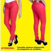 Calça Sawary Jeans Feminina Skinny, Com Elastano Promoção.