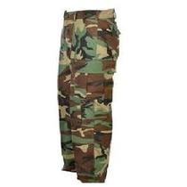 Calça Tática Militar Camuflado Woodland Tradicional