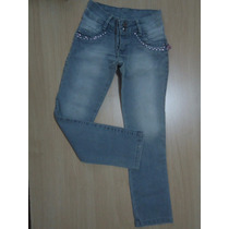 Art Fashion Kids Calça Jeans Infantil Menina Tamanho 06
