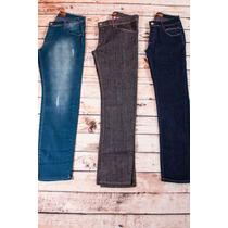 Calça Jeans Masculina Atacado Skinny Revenda 3 Un Barato