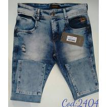 Calça Jeans Oppnus Masculina Fit Coleção 2016
