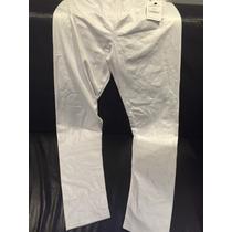 Calça Legging Branca Efeito Molhado