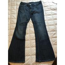 Calça Jeans Flare Seven + Sapatilha Arezzo