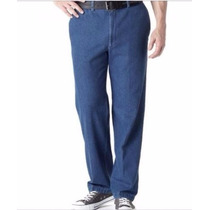 Lee Relaxed Fit Flat Front Calça Jeans 54 Br Masculina 44x30