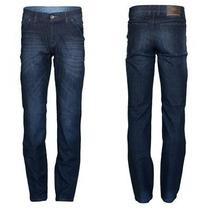 Calça Jeans Tradicional Masculina Fact 1944 Estilo Moda