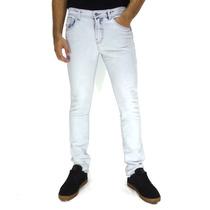 Calça Jeans Slim Fit Maresia Authentic Light Blue Original
