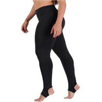 Calça Legging Pezinho Preta Suplex De Qualidade! Fitness
