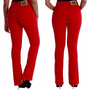 Sawary Calça Jeans Cintura Alta Hot Pants Levanta Bumbum