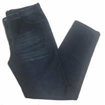 Calça Masculina Jeans Escuro Saldo Pequeno Defeito Plus Size