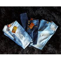 Calça Jeans Feminina Kit 10 Peça Atacado Todos Os Tamanhos