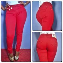 Calça Jeans Deerf Feminina- Cintura Média- Linda No Corpo